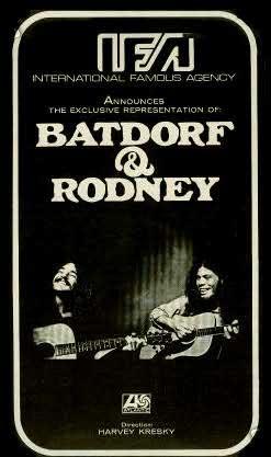 Batdorf & Rodney | Poster